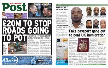 Nottingham Post – January 29, 2018