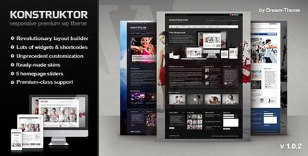 ThemeForest - Konstruktor v1.0.2 - Responsive Corporate WordPress Theme - 2785233