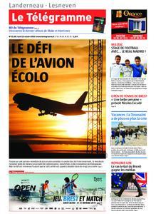 Le Télégramme Landerneau - Lesneven – 21 octobre 2019