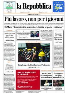 la Repubblica – 02 luglio 2019