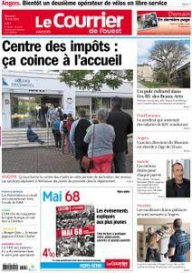 Le Courrier de l'Ouest Angers - 16 mai 2018