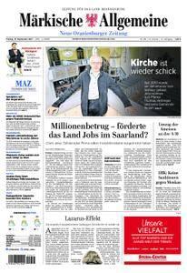 Neue Oranienburger Zeitung - 15. September 2017