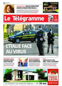 Le Télégramme Brest – 25 février 2020