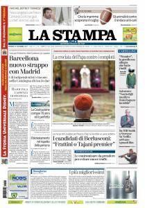 La Stampa Torino Provincia e Canavese - 22 Dicembre 2017