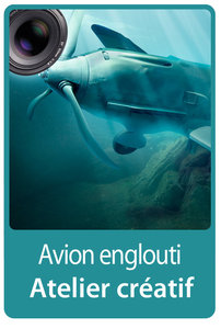 Atelier créatif : Avion englouti