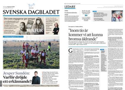 Svenska Dagbladet – 12 januari 2020