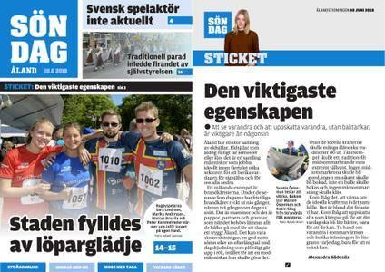 Ålandstidningen – 10 juni 2018