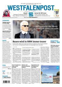 Westfalenpost Wetter - 20. Februar 2019
