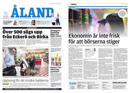 Ålandstidningen – 15 april 2020