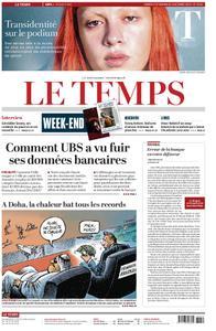 Le Temps - 05 octobre 2019