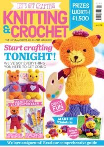 Let's Get Crafting Knitting & Crochet - Issue 108 - January-February 2019