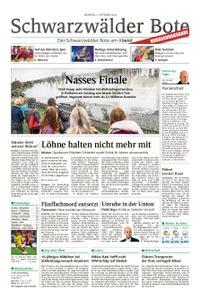 Schwarzwälder Bote Balingen - 07. Oktober 2019