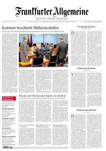 Frankfurter Allgemeine Zeitung - 24 März 2020