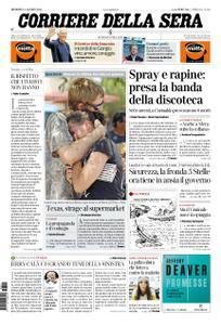 Corriere della Sera – 04 agosto 2019