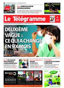 Le Télégramme Landerneau - Lesneven – 28 octobre 2020