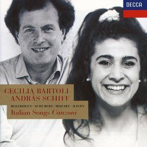Cecilia Bartoli, Andras Schiff ‎- Italian Songs: Beethoven, Mozart, Schubert, Haydn (1993) [Re-Up]