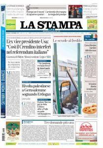 La Stampa Torino Provincia e Canavese - 8 Dicembre 2017