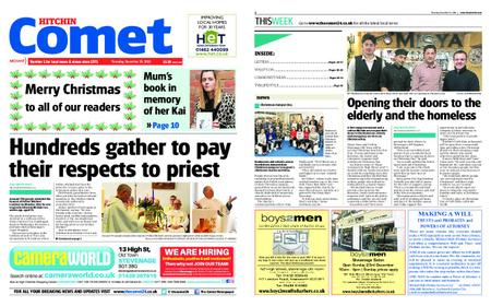 The Comet Hitchin – December 20, 2018