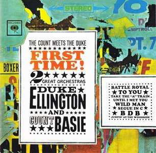 Duke Ellington and Count Basie - First Time! The Count Meets the Duke (1961) [Reissue 2002] PS3 ISO + Hi-Res FLAC