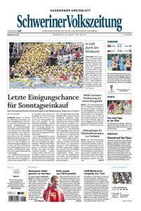 Schweriner Volkszeitung Hagenower Kreisblatt - 09. Juli 2018