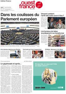 Ouest-France Édition France – 20 mai 2019