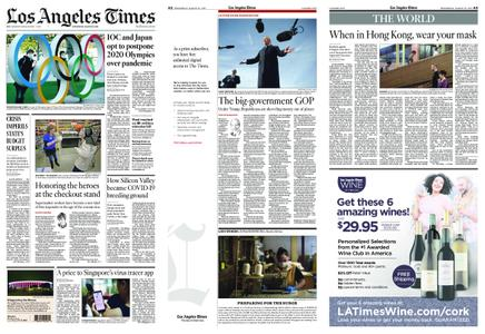 Los Angeles Times – March 25, 2020