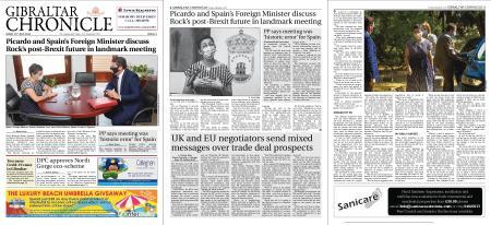 Gibraltar Chronicle – 24 July 2020