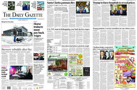 The Daily Gazette – November 16, 2019