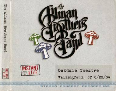 The Allman Brothers Band - Oakdale Theatre, Wallingford, CT - August 22, 2004 (2004) {3CD Set Peach Records}