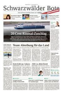 Schwarzwälder Bote Blumberg - 29. November 2018