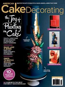 American Cake Decorating -January/February 2021