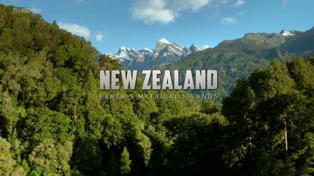 BBC - New Zealand: Earth's Mythical Islands: Cast Adrift (2016)