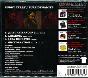 Buddy Terry - Pure Dynamite (Japan Edition) (1972/2007)