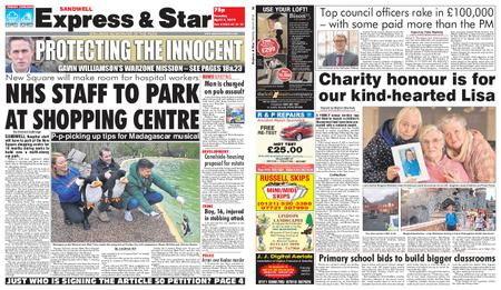 Express and Star Sandwell Edition – April 09, 2019