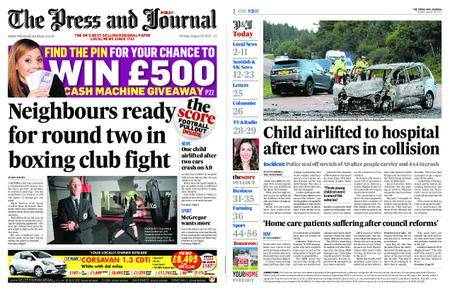 The Press and Journal Moray – August 28, 2017