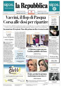 la Repubblica - 6 Aprile 2021