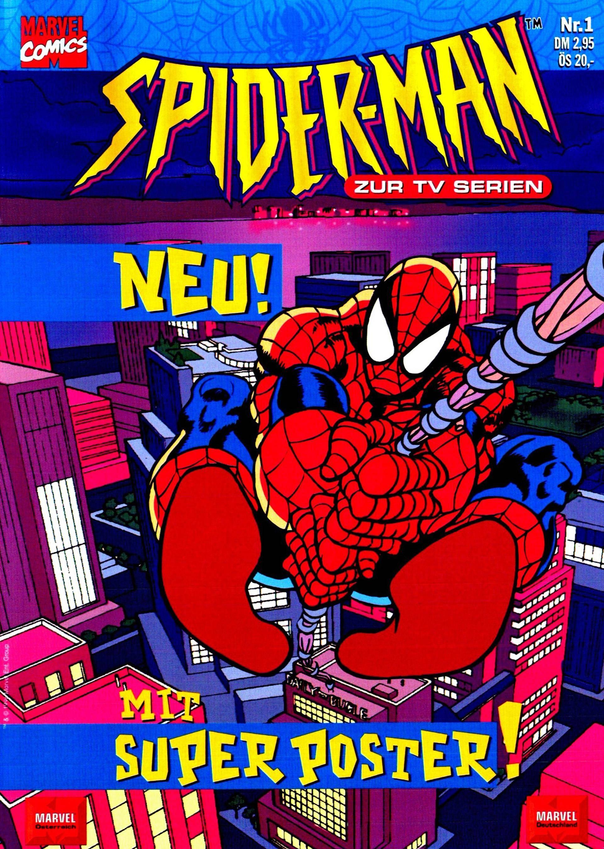 Spider-Man zur TV-Serie 01 - Kraven the hunter