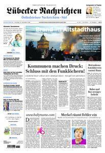 Lübecker Nachrichten Ostholstein Süd - 25. September 2018
