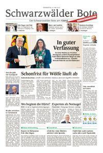 Schwarzwälder Bote Hechingen - 23. Mai 2019