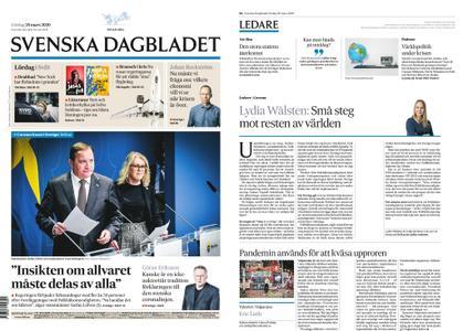 Svenska Dagbladet – 28 mars 2020