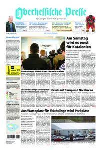 Oberhessische Presse Marburg/Ostkreis - 20. Oktober 2017