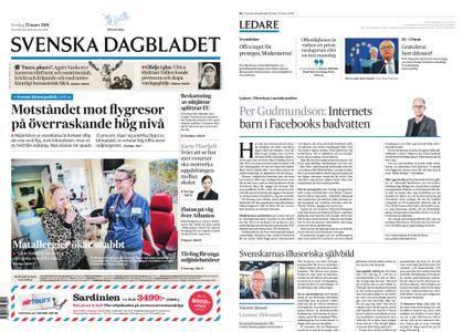 Svenska Dagbladet – 23 mars 2018