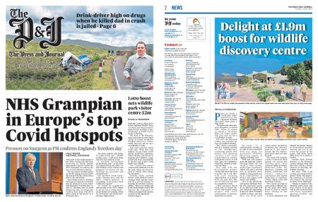 The Press and Journal Moray – July 06, 2021