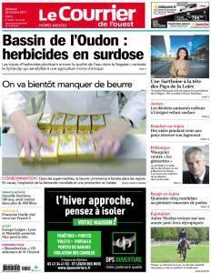 Le Courrier de l'Ouest Nord Anjou - 20 Octobre 2017
