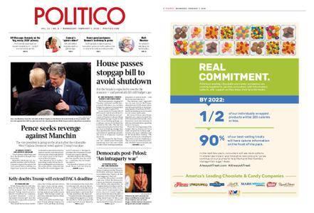 Politico – February 07, 2018