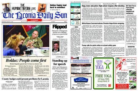 The Laconia Daily Sun – March 01, 2018