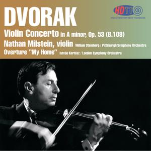 Nathan Milstein - Dvorak: Violin Concerto & My Home Overture (1958 & 1965/2012) [DSD128 + Hi-Res FLAC]