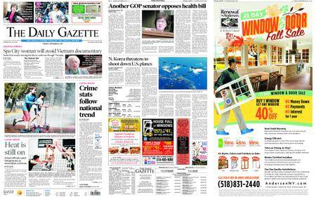 The Daily Gazette – September 26, 2017