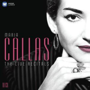Maria Callas – The Live Recitals: Box Set 10CDs (2012) Re-up