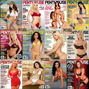 Penthouse USA - Full Year 2008 Issues Collection